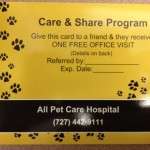 All Pet Care Hospital Reward Referral Program