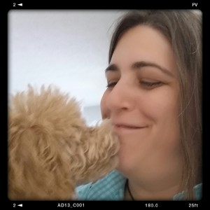 This mini poodle is so comfortable during his house call visit, he tries to kiss Doc Truli on the lips!